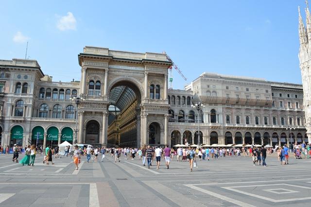 Milão - Viagem para Itália