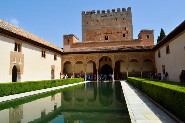 Pátio de Arrayanes em Alhambra