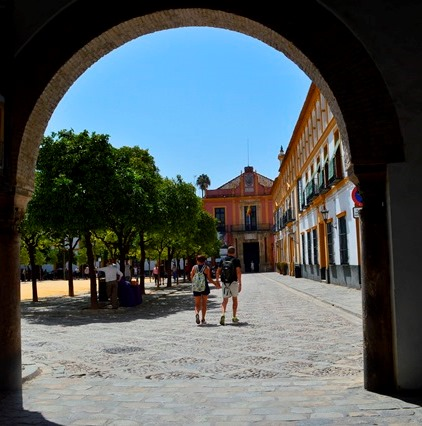 Real Alcázar-Sevilha