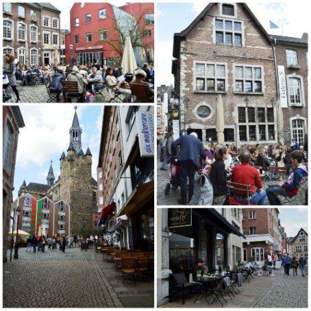 Centro histórico de Aachen