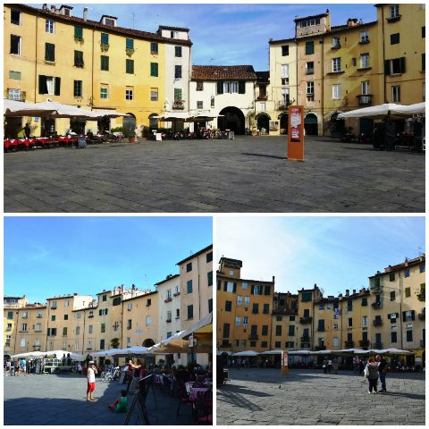 cidade medieval na Toscana