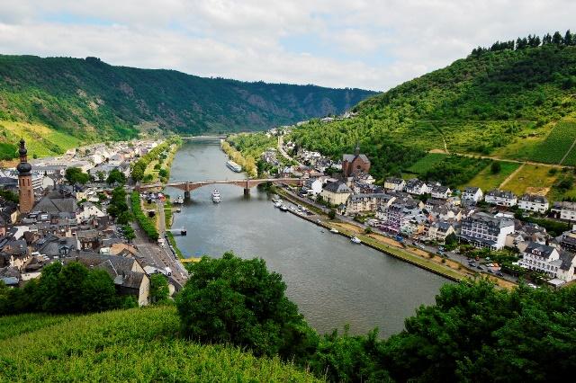 Rota do vinho na Alemanha