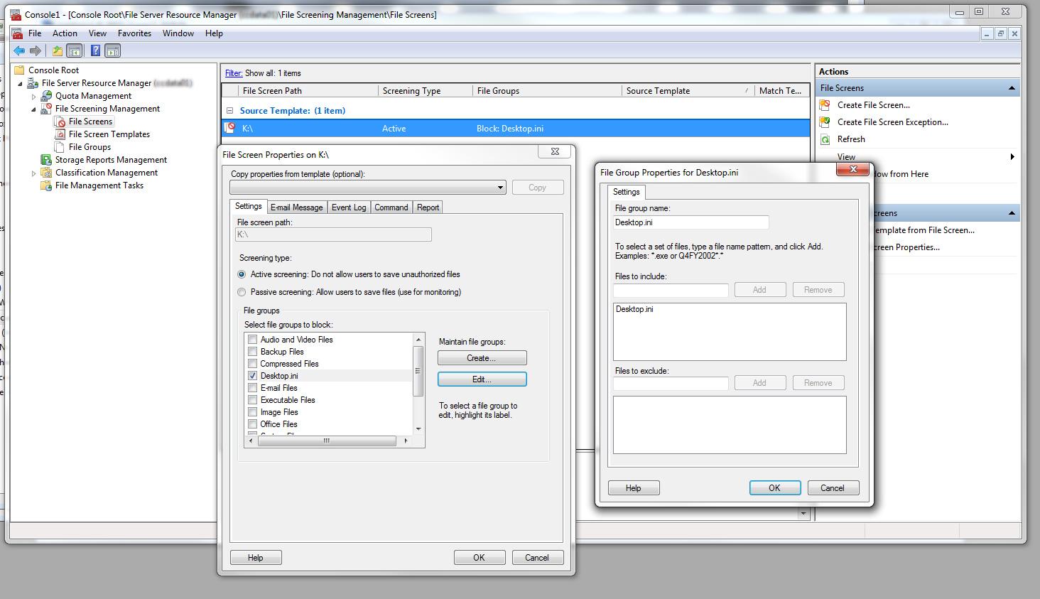 File Server Resource Manager  - Kevin Burke's Blog