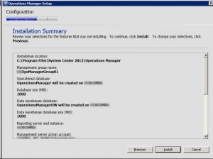 System Center Operations Manager 2012 - Summary