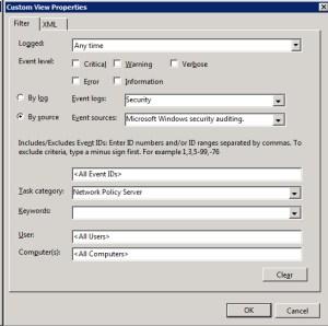 Custom View Filter