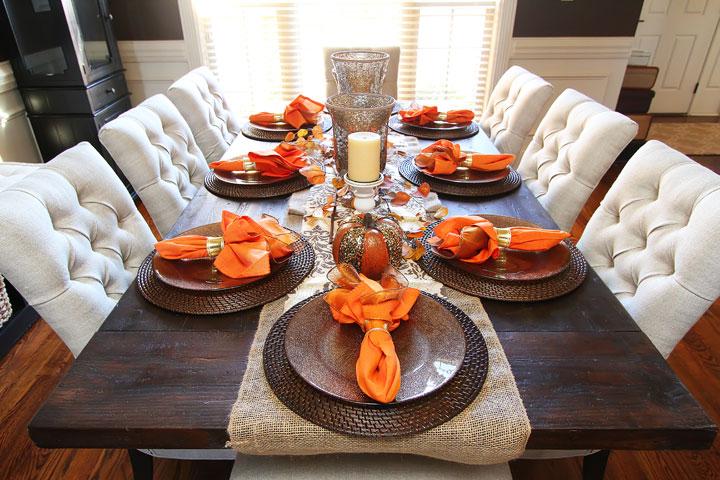 Fall Dining Room Table Kevin Amanda