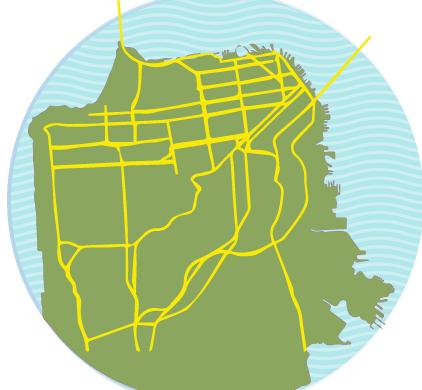 Major San Francisco Roads