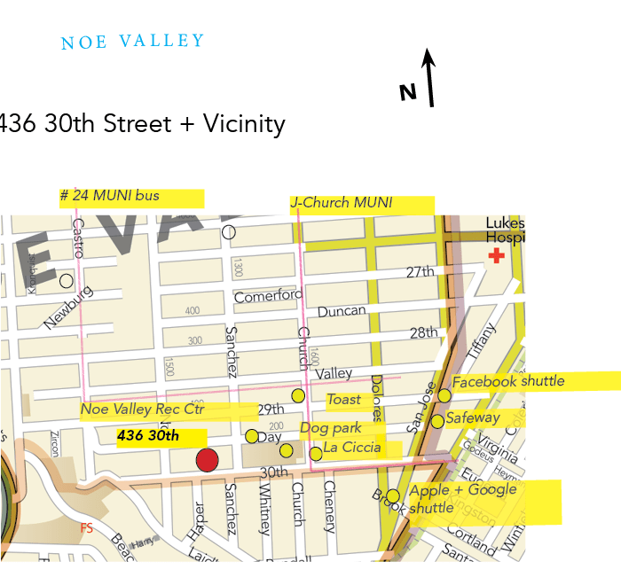 area vicinity