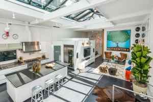 The Commercial Grade Kitchen + Living Room
