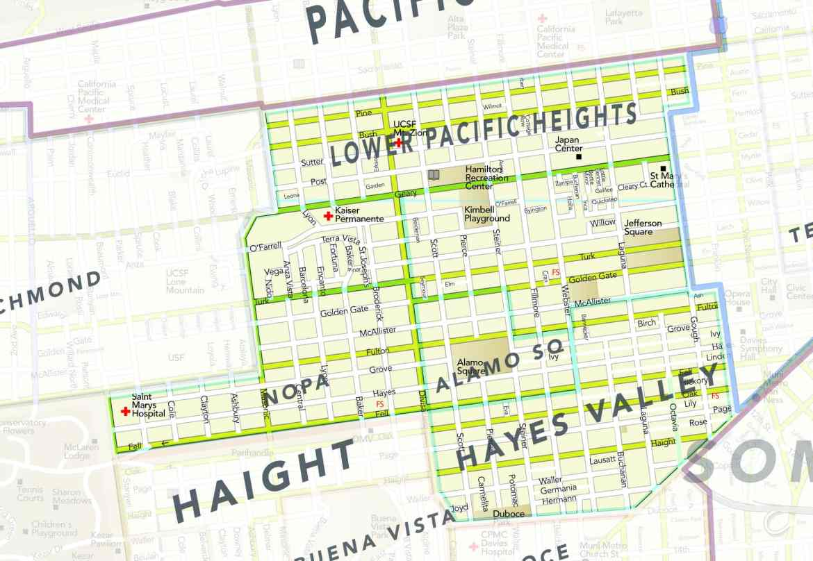 District 6: Hayes Valley, Alamo the Haight and NoPa
