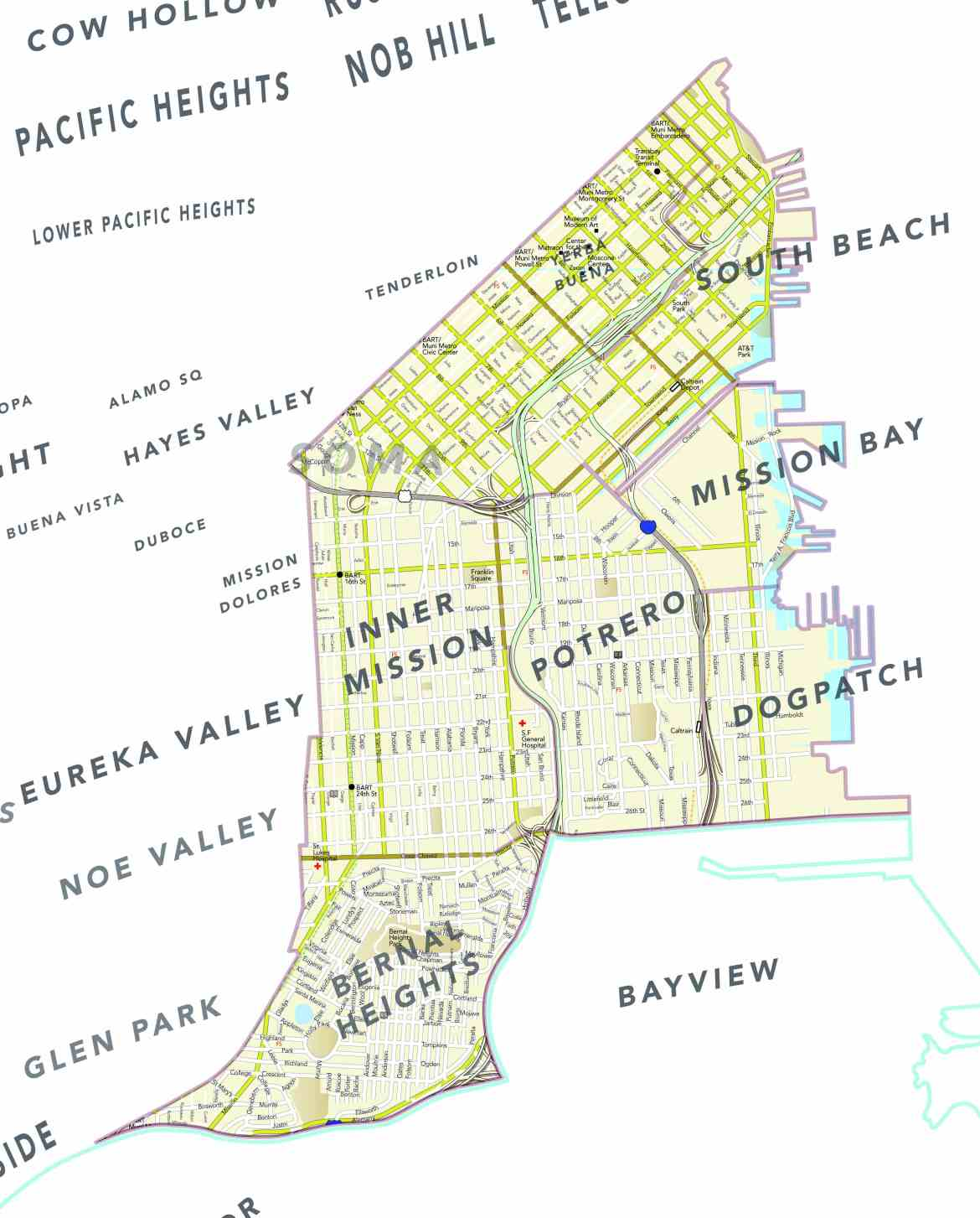 District 9: The Eastern Half of the City