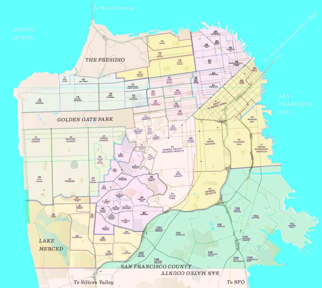 The MLS Districts of San Francisco
