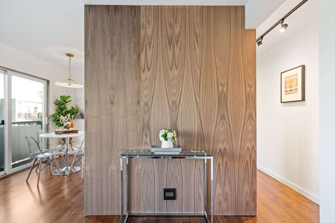 875 Vermont - The Walnut Wall