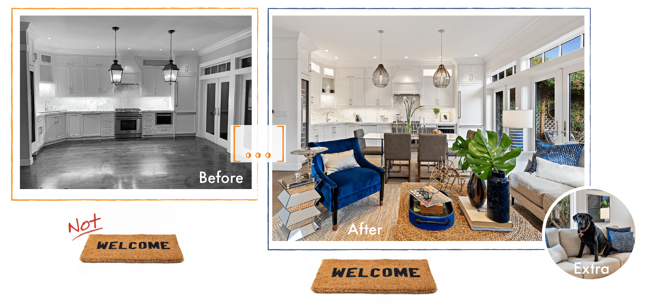 Staged Homes vs Unstaged Homes