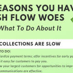 INFOGRAPHIC: 5 Reasons You Have Cash Flow Woes and What To Do About It