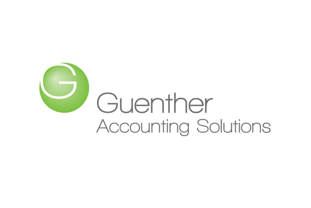 Kevin Cates Design » Guenther Accounting Solutions Logo