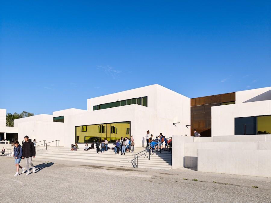 Collge Les Fontanilles  LCR architectes  Castelnaudary