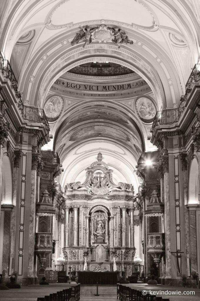 Main altarpiece by Isidro Lorea