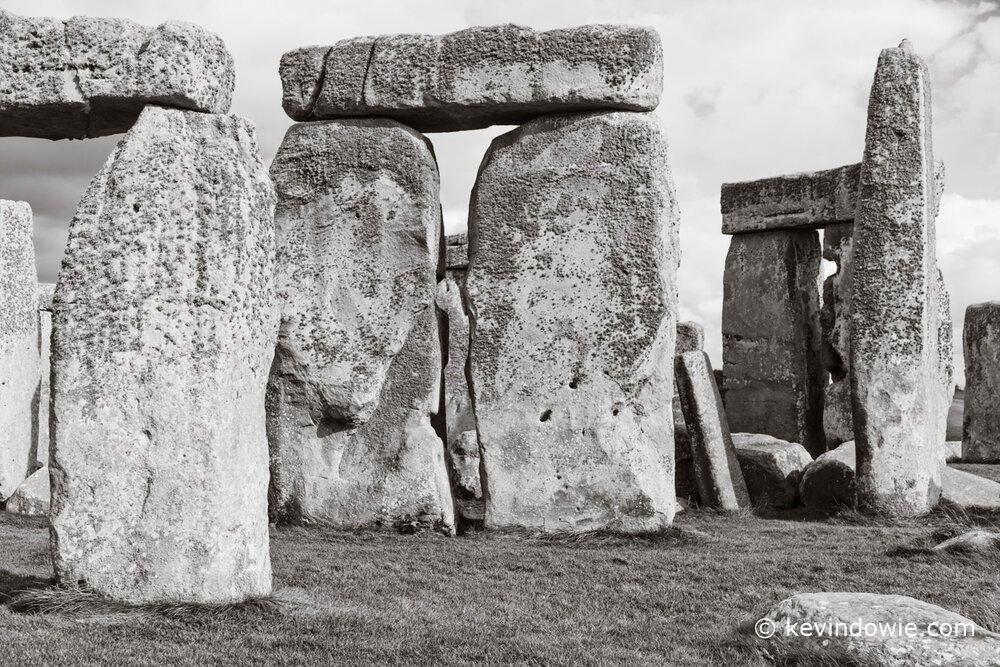 Stonehenge close up.