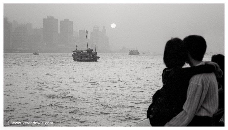 Overlooking Hong Kong Harbour