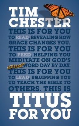 Titus for You Tim Chester Book Cover and Review