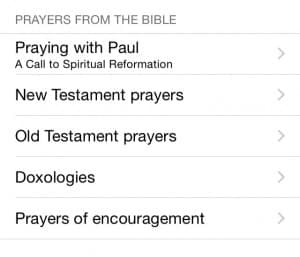 PrayerMate Prayers from the Bible App