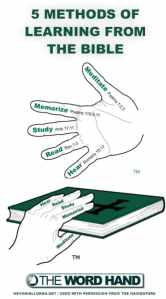 5 Methods of Learning from the Bible Verses on Scripture Reading Study and Meditation