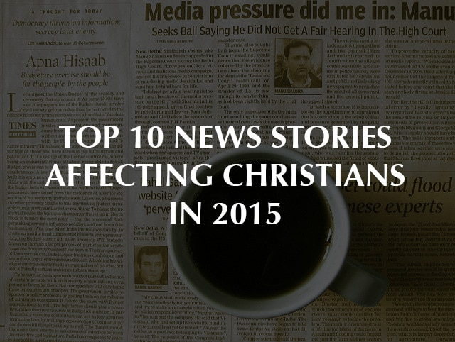 Top 10 News Stories Christians 2015