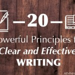 20 Powerful Principles for Clear and Effective Writing