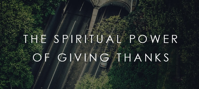 What does the Bible Say about Giving Thanks