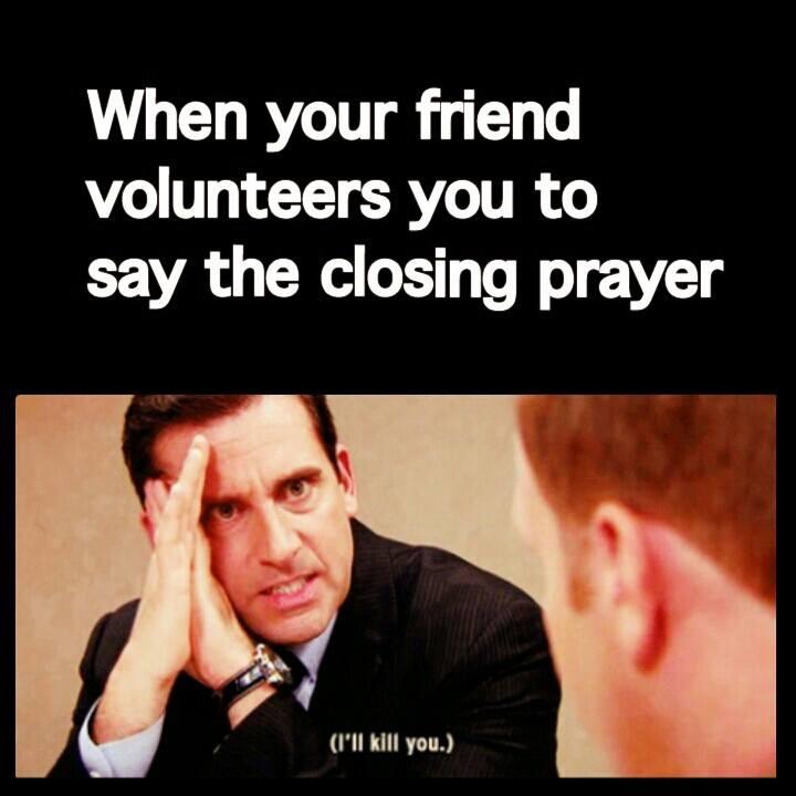 Funny Prayer Memes - MIchael Scott
