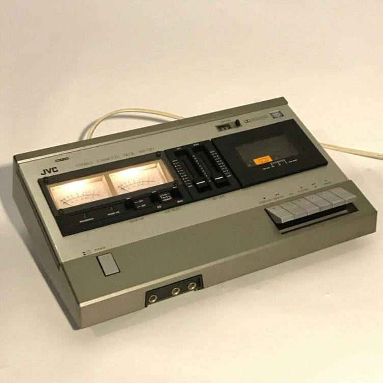 JVC KD-720 cassette deck c1979