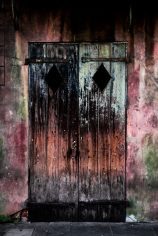 The doors of Preservation Hall in New Orleans