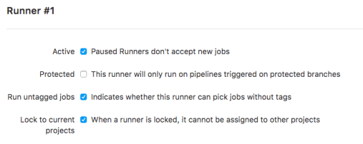 Changing a GitLab Runner From ''Locked to a Project'' to