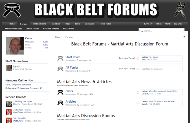 Black Belt Forums