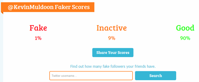 My Fake Follower Stats