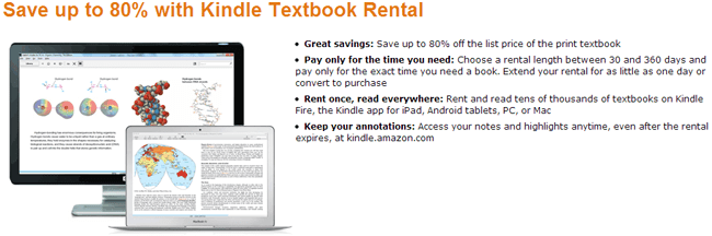 Amazon Rental Service