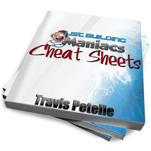 List Building Maniacs Cheat Sheets