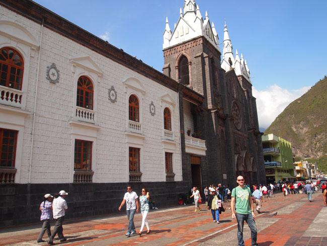 Banos Ecuador Basilica