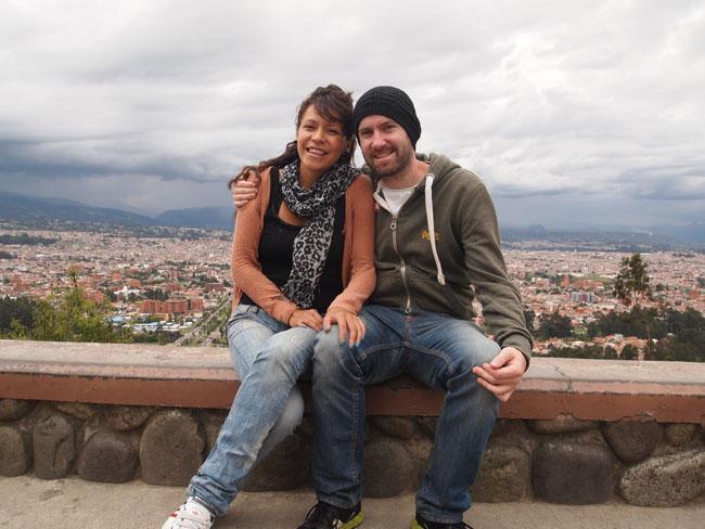 A great view of Cuenca. Ecuador