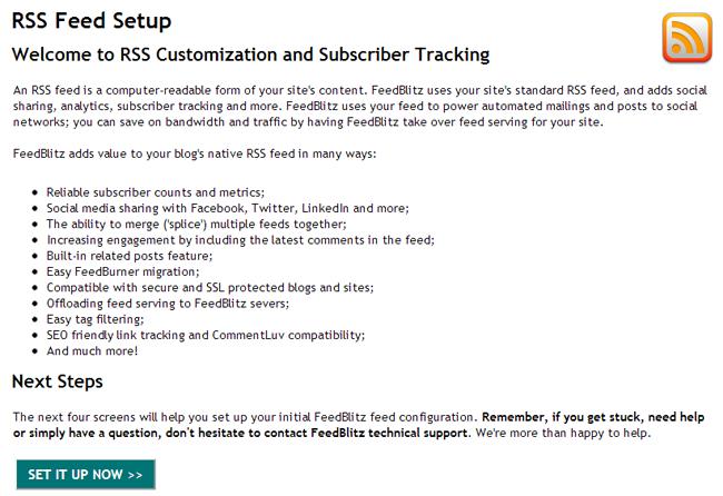 FeedBlitz RSS Customisation