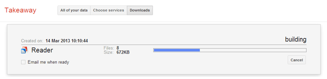 Download Your Backup File