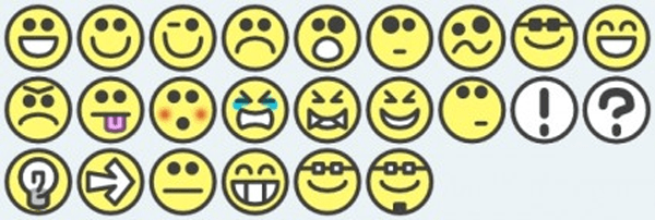 Smilies Emotion Icons clip art