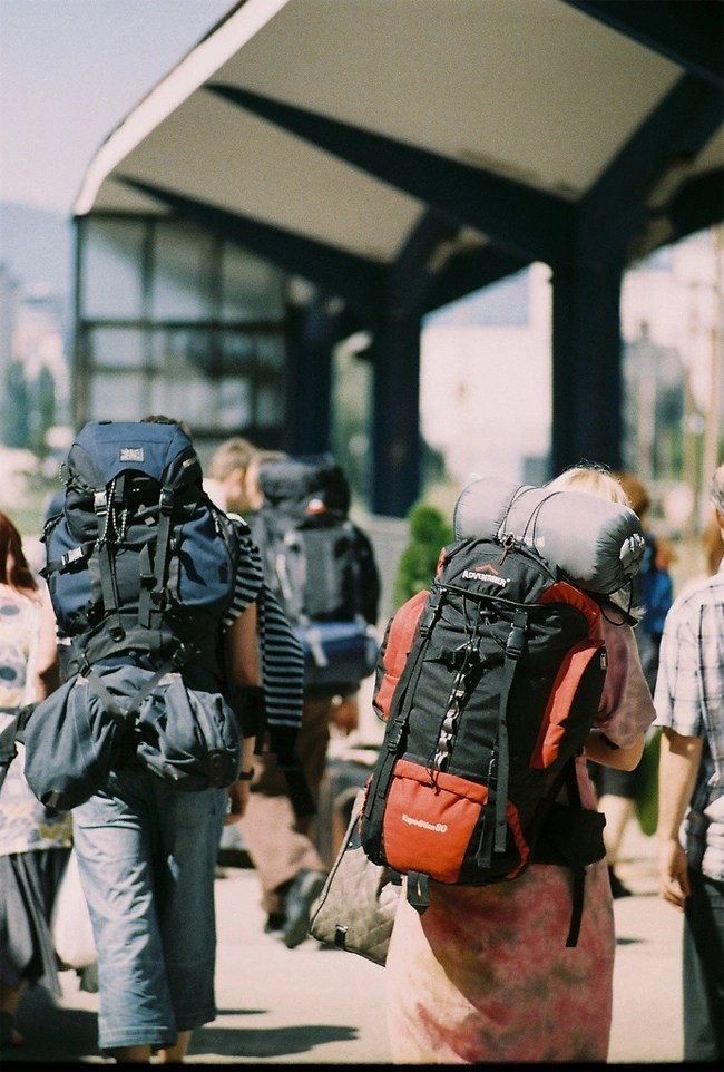 Backpack Through Another countries
