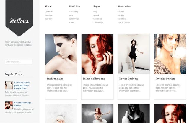 Helious WordPress Theme