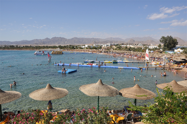 Na'ama Bay, Sharm el Sheikh, Egypt