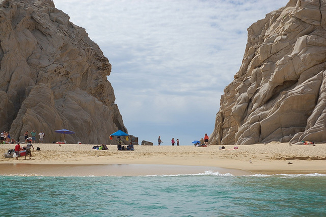 Lover's Beach, Baja California Sur, Mexico