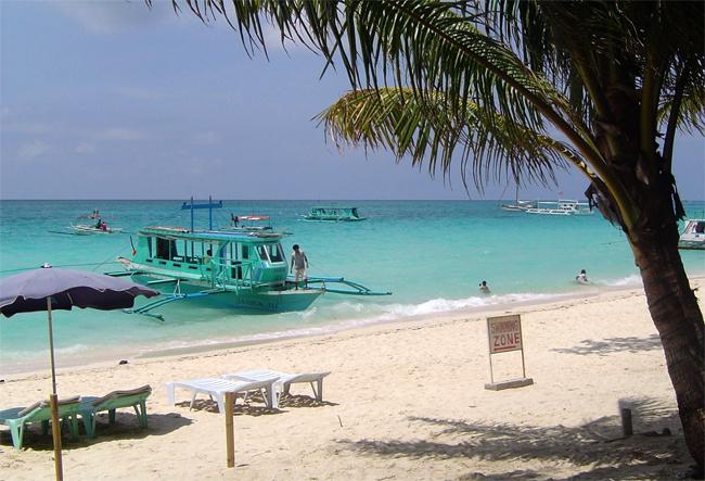 White Beach Boracay, Visayas, Philippines