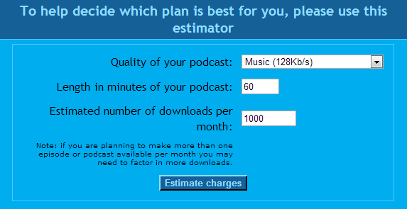 JellyCast Calculator