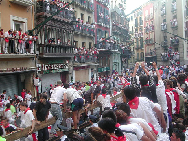 Take Part in the Running of the Bulls in Pamplona